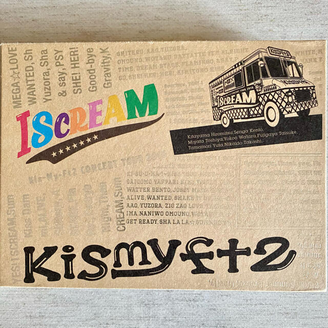 Kis-My-Ft2(キスマイフットツー)のKis-My-Ft2 CONCERT TOUR 2016 I SCREAM  エンタメ/ホビーのDVD/ブルーレイ(アイドル)の商品写真