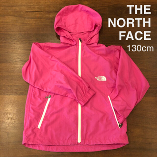 THE NORTH FACE - THE NORTH FACE  美品 130cm ウインドブレーカーキッズ 薄手