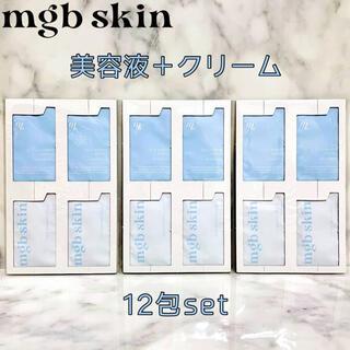 【mgb skin】シカバリアアンプル・シカバリアクリーム 12包set