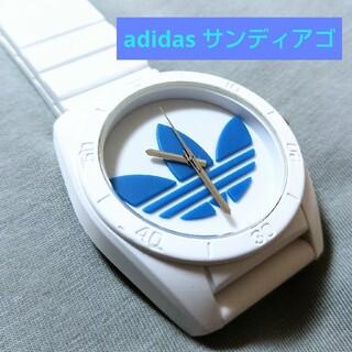 アディダス(adidas)のadidas 腕時計 ホワイト(腕時計(アナログ))