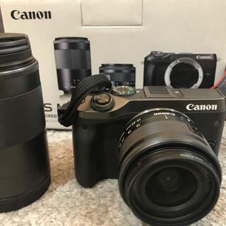 キヤノン(Canon)のぼくちん様専用 canon eos m6 カメラ 美品(ミラーレス一眼)