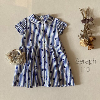 Seraph - Seraph(セラフ)⚘涼やかなコットンリネンワンピース*̩̩̥୨୧˖
