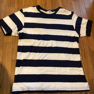 ジーユー(GU)のGU ボーダーT shirt(Tシャツ/カットソー(半袖/袖なし))