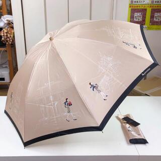 アクアスキュータム(AQUA SCUTUM)の新品!Aquascutum 折りたたみ傘 雨傘(傘)