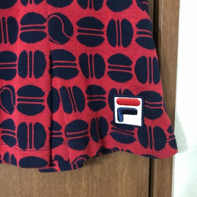 FILA(フィラ)のフィラ マカロン柄スコート Sサイズ💕 スポーツ/アウトドアのテニス(ウェア)の商品写真