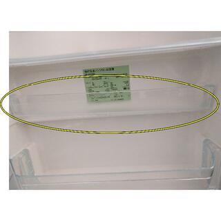 ムジルシリョウヒン(MUJI (無印良品))の冷蔵庫内扉中段ケース(無印良品3ドア冷蔵庫 M-R25B用)(冷蔵庫)