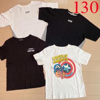 ジーユー(GU)のGU☆Tシャツ 130(Tシャツ/カットソー)