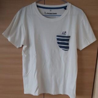 ローズバッド(ROSE BUD)の【ROSE BUD】白Tシャツ  ワンポイント S(Tシャツ/カットソー(半袖/袖なし))