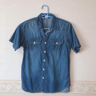 ジーユー(GU)のGU 150cm デニムシャツ(Tシャツ/カットソー)