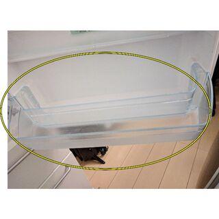 ムジルシリョウヒン(MUJI (無印良品))の冷蔵庫内扉用ボトルケース(無印良品3ドア冷蔵庫M-R25B用)(冷蔵庫)