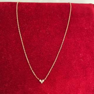 ココシュニック(COCOSHNIK)のココシュニックハートダイヤモンドネックレス(ネックレス)