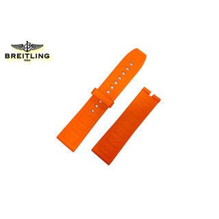 ブライトリング(BREITLING)の【新品・未使用】ブライトリング オレンジダイバープロ ラバーストラップ 22mm(ラバーベルト)