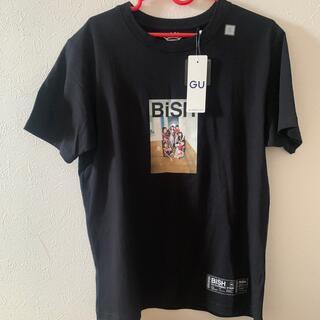 ジーユー(GU)のBiSH GUグラフィックTシャツ サイズ(MEN) L 新品 未着 (Tシャツ/カットソー(半袖/袖なし))