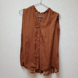 スコットクラブ(SCOT CLUB)のRADIATE バックプリーツシャツ サイズM(シャツ/ブラウス(半袖/袖なし))