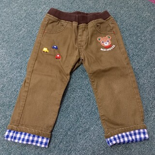 ミキハウス(mikihouse)のミキハウス 90  ズボン パンツ 男の子(パンツ/スパッツ)