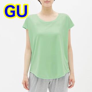 ジーユー(GU)のGU ジーユースポーツ ライトグリーン Tシャツ(Tシャツ(半袖/袖なし))
