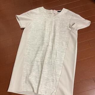 ロートレアモン(LAUTREAMONT)の中古 ラエフ la.f... 半袖 プルオーバー グレー サイズ2S(チュニック)
