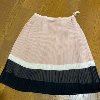 エル(ELLE)のELLE プリーツスカート(ひざ丈スカート)