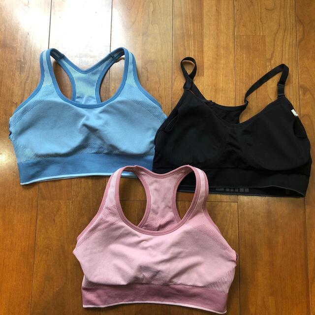 PUMA(プーマ)のプーマ スポーツブラ ヨガブラ トレーニング ランニング Lサイズ スポーツ/アウトドアのトレーニング/エクササイズ(トレーニング用品)の商品写真