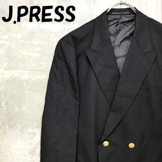 ジェイプレス(J.PRESS)の【人気】ジェイプレス ダブルジャケット 夏物 金ボタン ネイビー サイズAB6(テーラードジャケット)