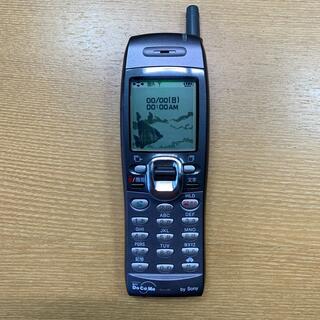 エヌティティドコモ(NTTdocomo)の【美品】SO502i デジタルムーバ 本体のみ 動きます。(匿名配送)(携帯電話本体)