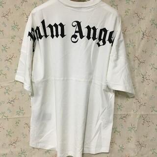 パーム(PALM)の新品 21SS Palm Angels ロゴ プリント オーバーサイズ Tシャツ(Tシャツ/カットソー(半袖/袖なし))