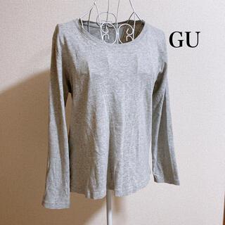ジーユー(GU)のクルーネックT(Tシャツ/カットソー(半袖/袖なし))