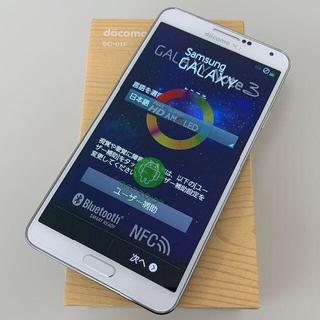 GALAXY Note 3 SC-01F White docomo(スマートフォン本体)