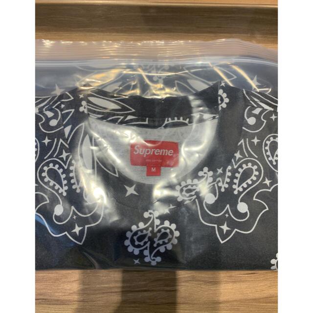 Supreme(シュプリーム)のSupreme small box tee 黒M メンズのトップス(Tシャツ/カットソー(半袖/袖なし))の商品写真