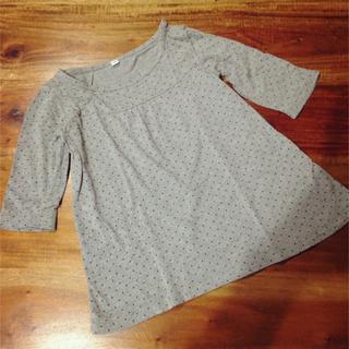 ムジルシリョウヒン(MUJI (無印良品))の七分丈チュニック▷90(Tシャツ/カットソー)