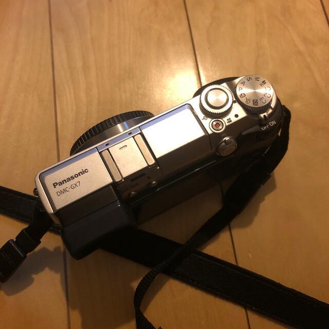 Panasonic(パナソニック)のLUMIX GX7 ボディ スマホ/家電/カメラのカメラ(ミラーレス一眼)の商品写真