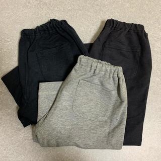 ムジルシリョウヒン(MUJI (無印良品))の無印 MUJI パンツ ズボン 3点 120サイズ(パンツ/スパッツ)