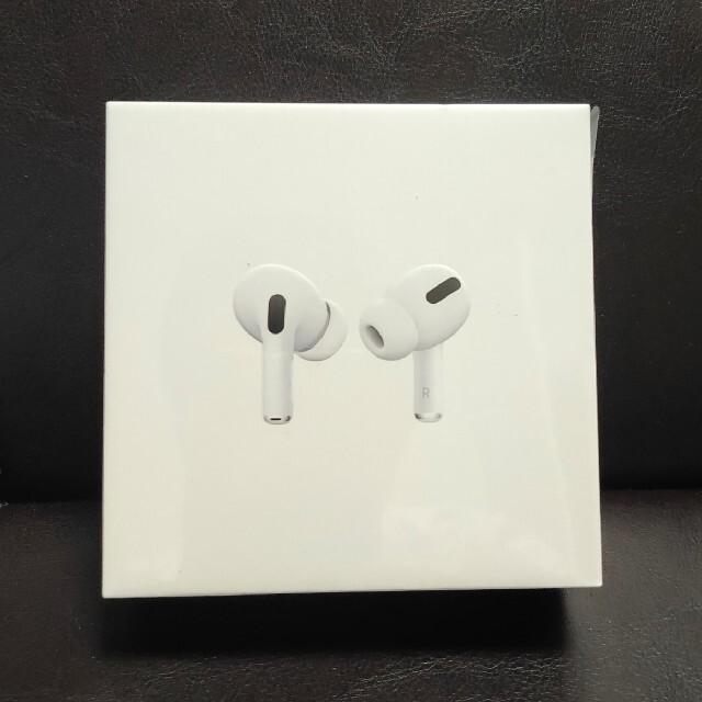 Apple(アップル)のApple AirPods Pro  新品未開封 国内正規品 スマホ/家電/カメラのオーディオ機器(ヘッドフォン/イヤフォン)の商品写真