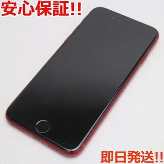 アイフォーン(iPhone)の良品中古 SIMフリー iPhone8 64GB レッド (スマートフォン本体)