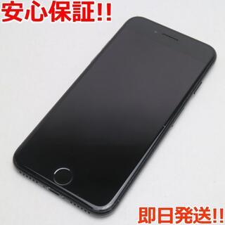 アイフォーン(iPhone)の美品 SIMフリー iPhone7 256GB ジェットブラック (スマートフォン本体)