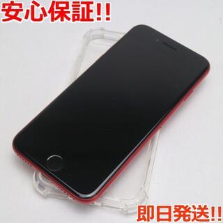 アイフォーン(iPhone)の美品 SIMフリー iPhone SE 第2世代 256GB レッド (スマートフォン本体)