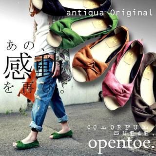 アンティカ(antiqua)のantiqua サンダル(サンダル)
