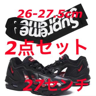 Supreme - 27cm Supreme Nike Air Max 96 black