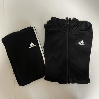 adidas - adidas アディダス ジャージ 上下セット Lサイズ フード付き
