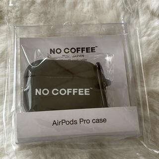 1991様 no coffee AirPods Pro case イヤホンケース(モバイルケース/カバー)
