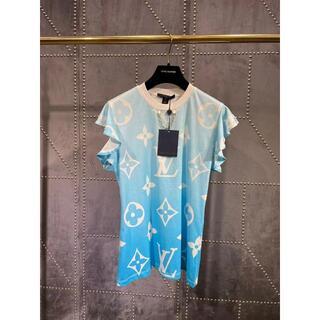 ルイヴィトン(LOUIS VUITTON)のLV☆モノグラムフラワー スリーブTシャツ(マンドリン)