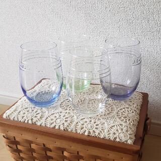 LE CREUSET - ル・クルーゼ BOSS 非売品 ガラスコップ 4個セット