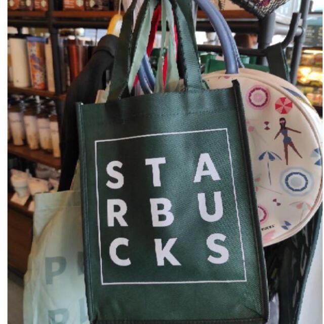 Starbucks Coffee(スターバックスコーヒー)の2枚セット 正規 Starbucks Bag スタバ バック 新商品 海外限定 レディースのバッグ(トートバッグ)の商品写真