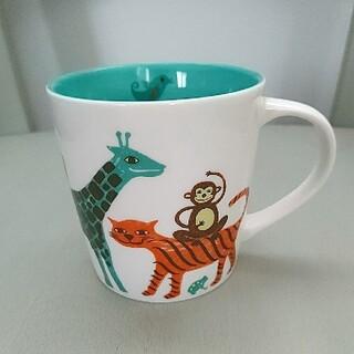 Starbucks Coffee - STARBUCKS★美品★可愛いアニマルマグカップ