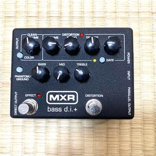 ベースエフェクター MXR bass d.i.+(ベースエフェクター)