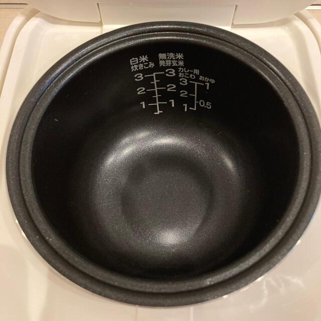 ニトリ(ニトリ)のニトリ 3合炊き 炊飯器 スマホ/家電/カメラの調理家電(炊飯器)の商品写真