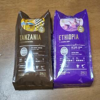 TULLY'S COFFEE - タリーズ コーヒー豆 タンザニアとエチオピア