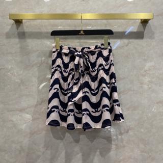 シャネル(CHANEL)の【21SS】●CHANEL●スカート CC ロゴ ミニスカート シルク(ミニスカート)