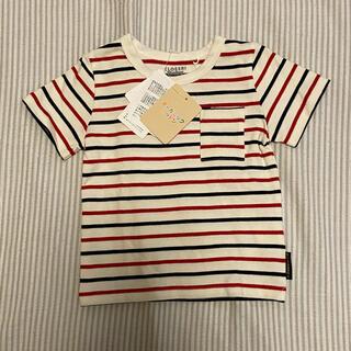 シマムラ(しまむら)の新品 オーガニックコットン Tシャツ 80(Tシャツ)