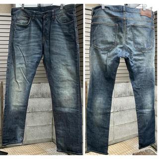 エイチアンドエム(H&M)のH&M デニムパンツ サイズ34インチ テーパードジーンズ(デニム/ジーンズ)